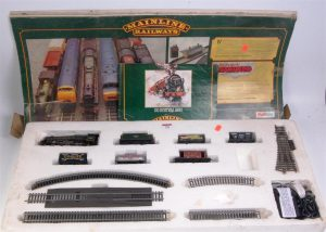 Train Collectors Society Mainline Express goods set, with BR Green Jubilee 4-6-0 45691 Orion