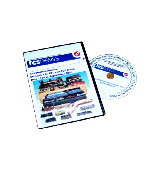 TCS Newsletter Archive CD